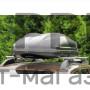Автобокс на крышу Черный Turino 1 (410 л) Аэродинамический с двусторонним открыванием